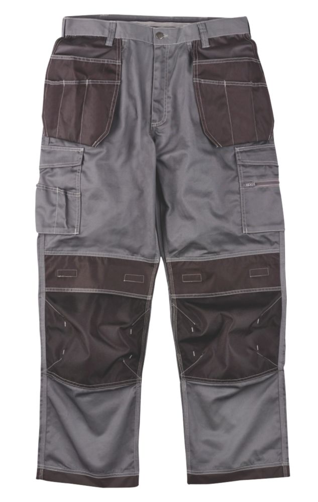 "Site Hound Holster Trousers Grey/Black 34"" W 32"" L"
