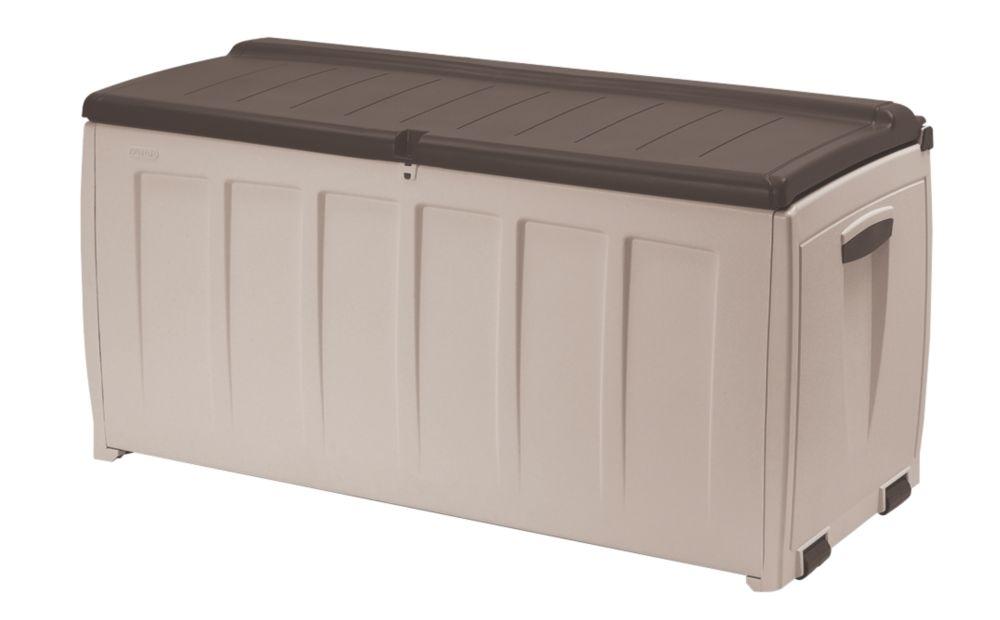 Keter Deluxe Storage Box & Seat 1.3 x 0.6 x 0.6m