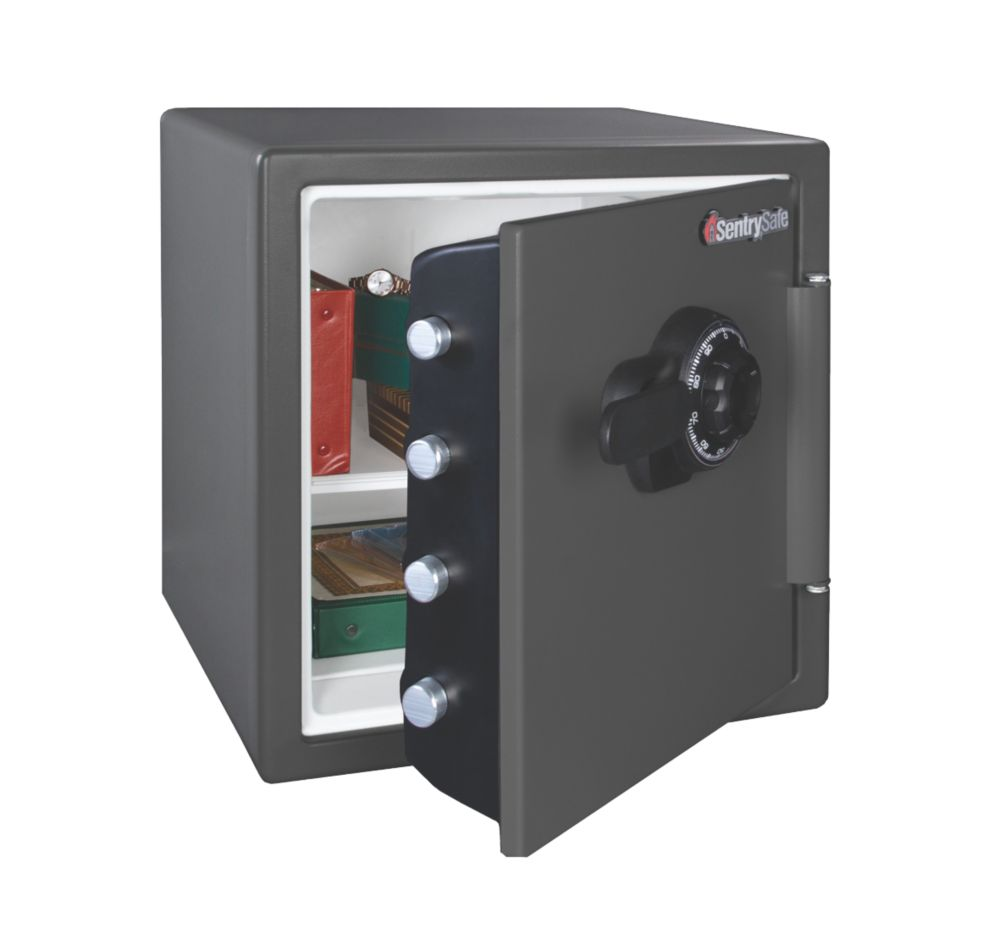 Sentry 34.8Ltr Water Resistant Combination Fire Safe 415 x 491 x 453mm