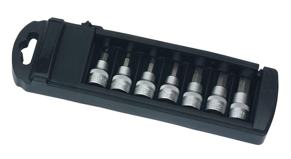 "Forge Steel Hex Socket Set 3/8"" 7 Pieces"