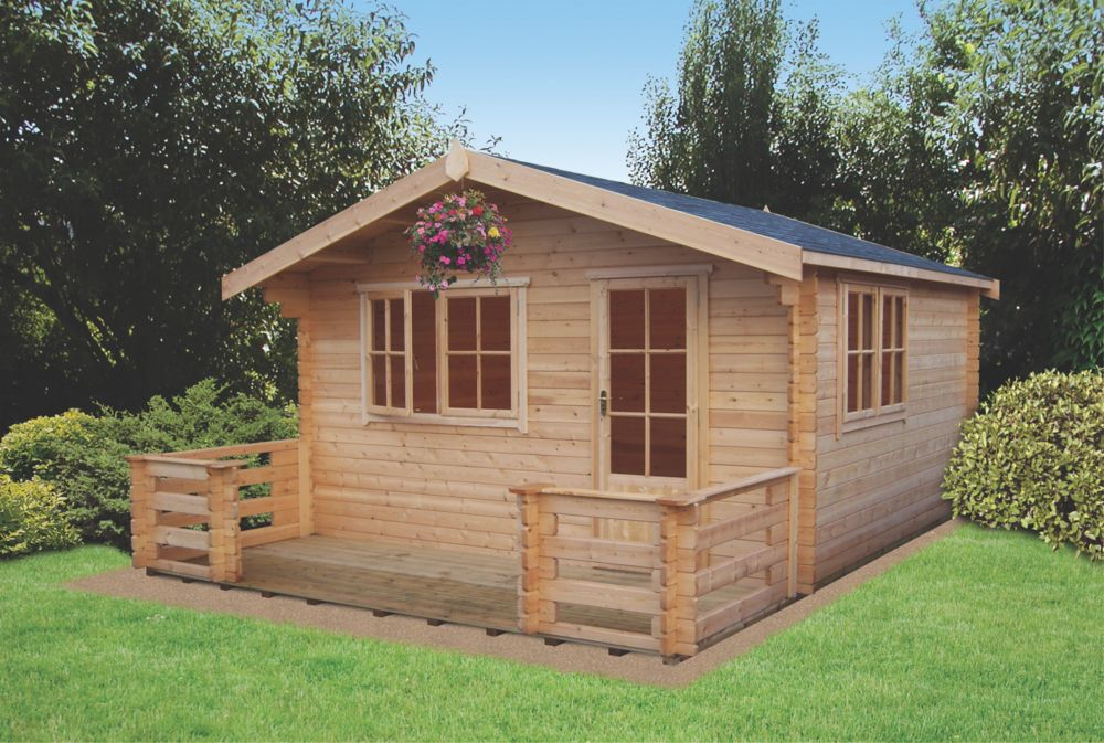 Kinver Log Cabin 4.1 x 5.3 x 2.7m