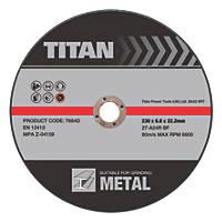 Titan Grinding Discs 230 x 6 x 22.23mm 3 Pack