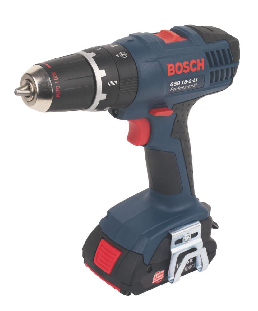 Bosch GSB 18-2-Li 18V 1.3Ah Li-Ion Cordless Combi Drill
