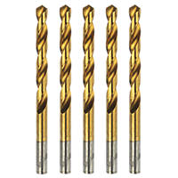 Erbauer Ground HSS Drill Bit 8mm Pack of 5