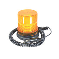 Ring LED Amber Warning Strobe Light Magnetic