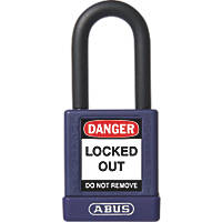 Abus Aluminium Keyed-Alike Lock-Off Padlock Purple 19 x 38mm