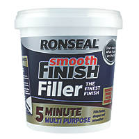 Ronseal 5 Minute Multipurpose Ready-Mixed Filler White 600ml