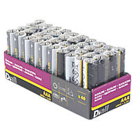 Alkaline AAA Batteries 40 Pack