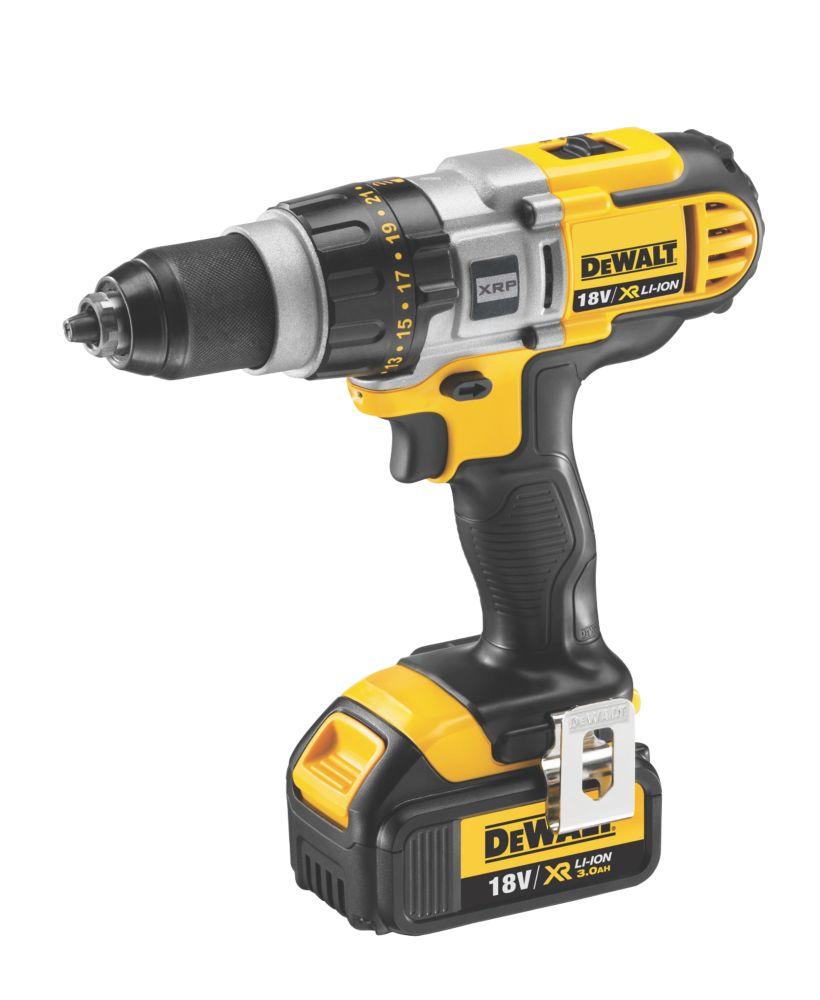 DeWalt XRP DCD980L2-GB 18V 3Ah Li-Ion Cordless Drill Driver XR