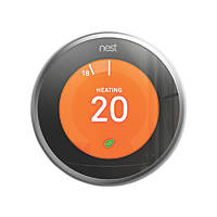 Nest Third Generation Smart Thermostat & Hot Water Control