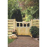 Grange Solid Infill Path Gate 900 x 900mm Pressure-Treated Green