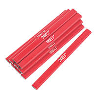 Forge Steel Carpenters Pencils Pack of 10