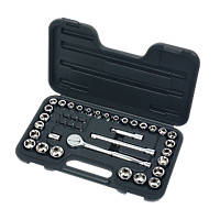 "Socket Set 3/8"" 40 Pieces"