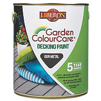 Liberon Decking Paint Gun Metal 2.5Ltr