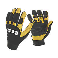 Cutter CW800 Work Gloves Black / Yellow Large