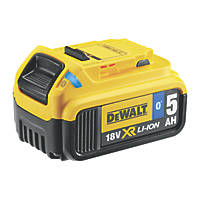 DeWalt DCB184B-XJ 18V 5.0Ah Li-Ion XR Tool Connect Bluetooth Battery