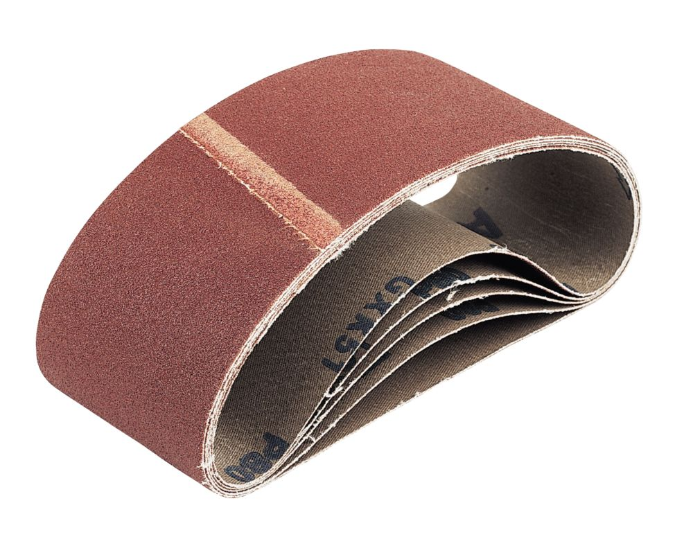 Cloth Sanding Belts 75 x 457mm 60 Grit Pack of 5