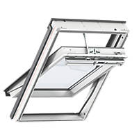 Velux Solar Centre-Pivot Integra Roof Window Clear 550 x 980mm