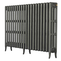 Arroll Neo-Classic 4-Column Cast Iron Radiator Cast grey 760 x 1234mm
