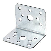 Sabrefix Heavy Duty Angle Brackets Stainless 60 x 50mm 10 Pack