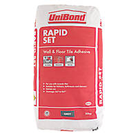 Unibond Rapid Set Wall & Floor Tile Adhesive Grey 20kg
