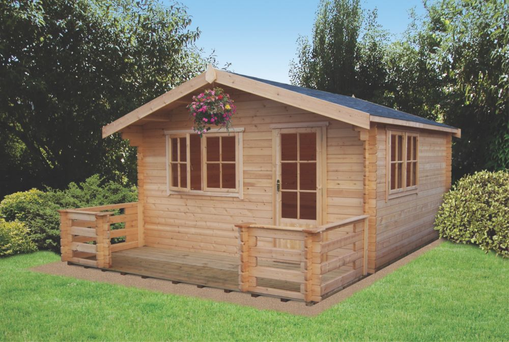Kinver Log Cabin 4.1 x 4.1 x 2.7m