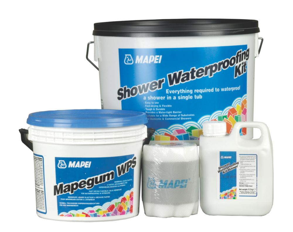 Mapei Shower Waterproofing Kit