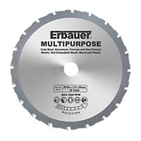 Erbauer Multipurpose Saw Blade 184 x 20mm 20T
