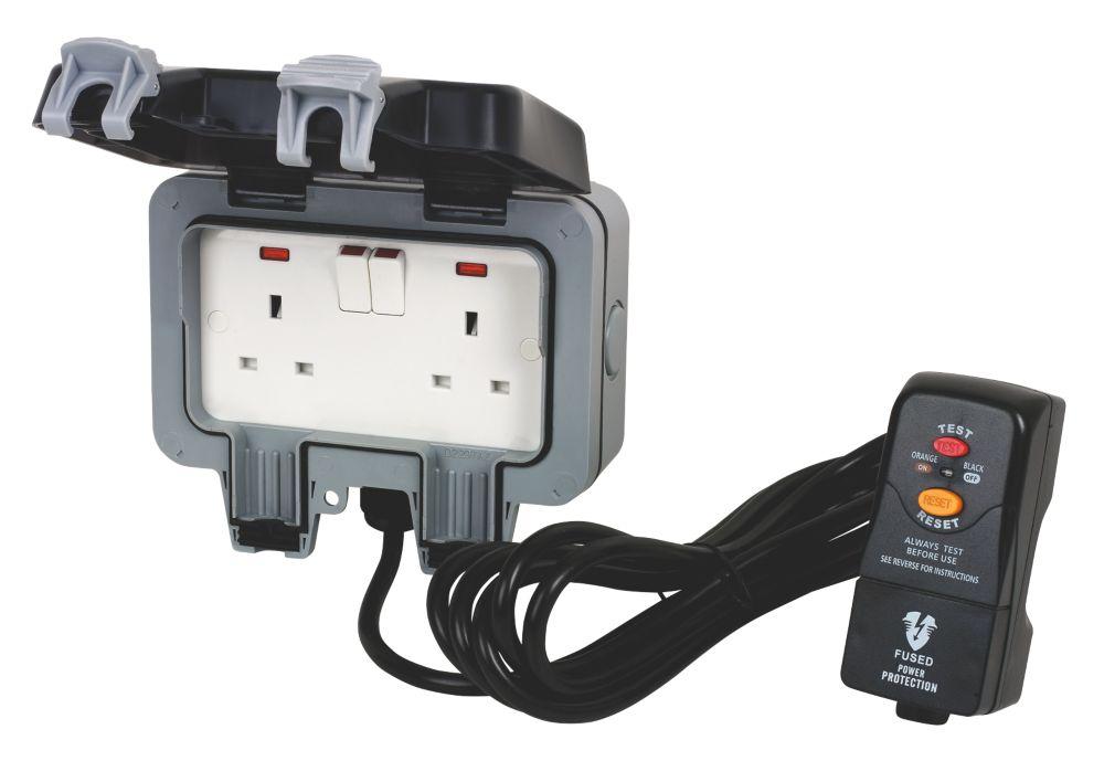 BG Nexus Outdoor Power IP66 Socket Kit