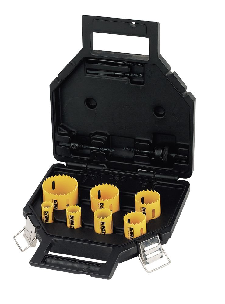 DeWalt Electricians Holesaw Kit 11 Pieces