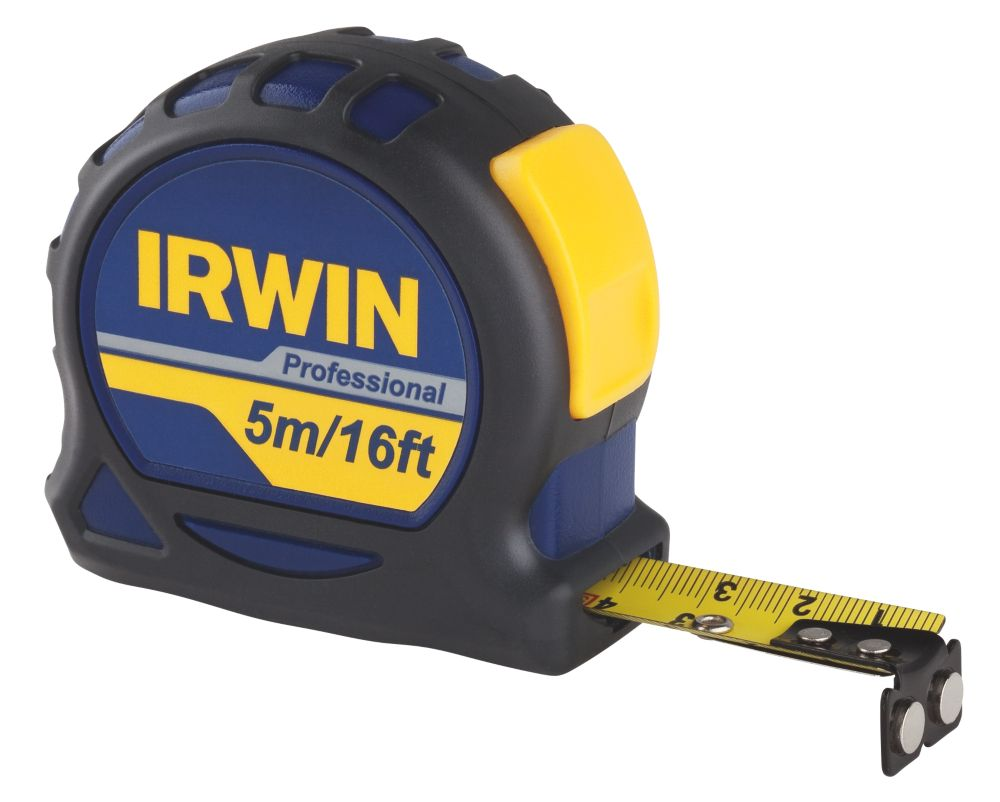 "Pro-Touch Metric & Imperial Professional Tape Measure 5m x 19mm (16' x ¾"")"