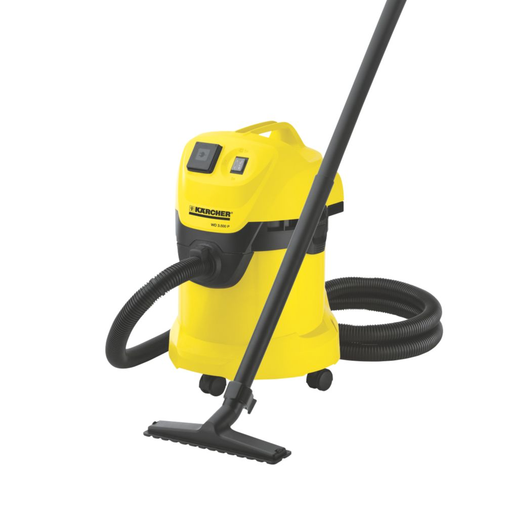 Karcher WD3.500P 1400W 17Ltr Wet & Dry Vacuum Cleaner 230V