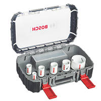 Bosch Progressor Holesaw Set 9 Piece Set
