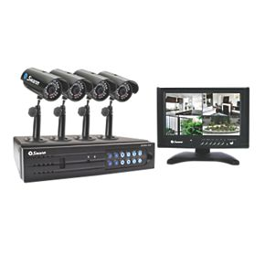 Swann All-in-One Monitoring & Recording Kit with LCD