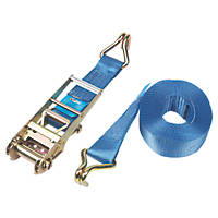 Ratchet Strap with Hooks 10m x 76mm