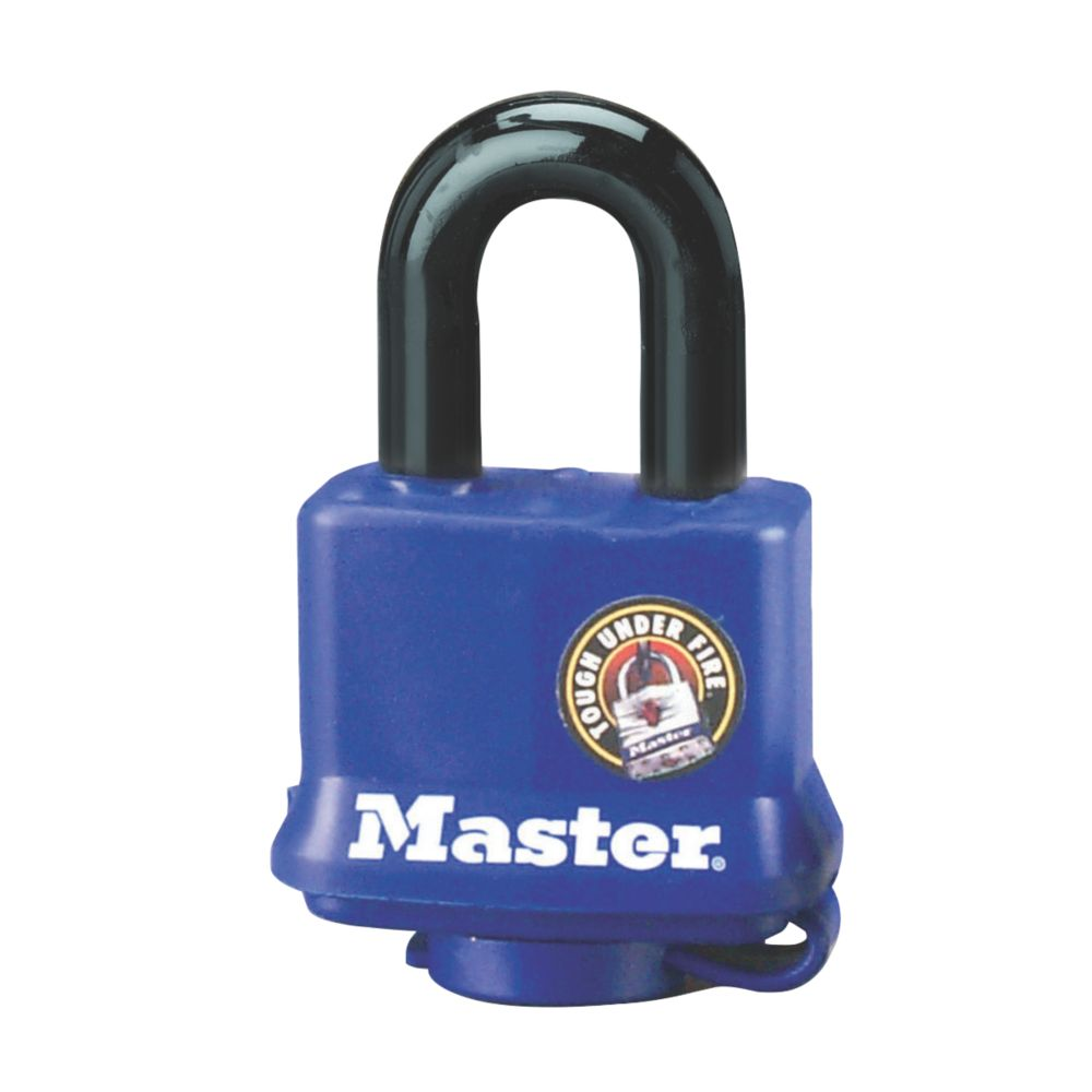 Master Lock Keyed Alike Laminated Steel Padlock 40mm