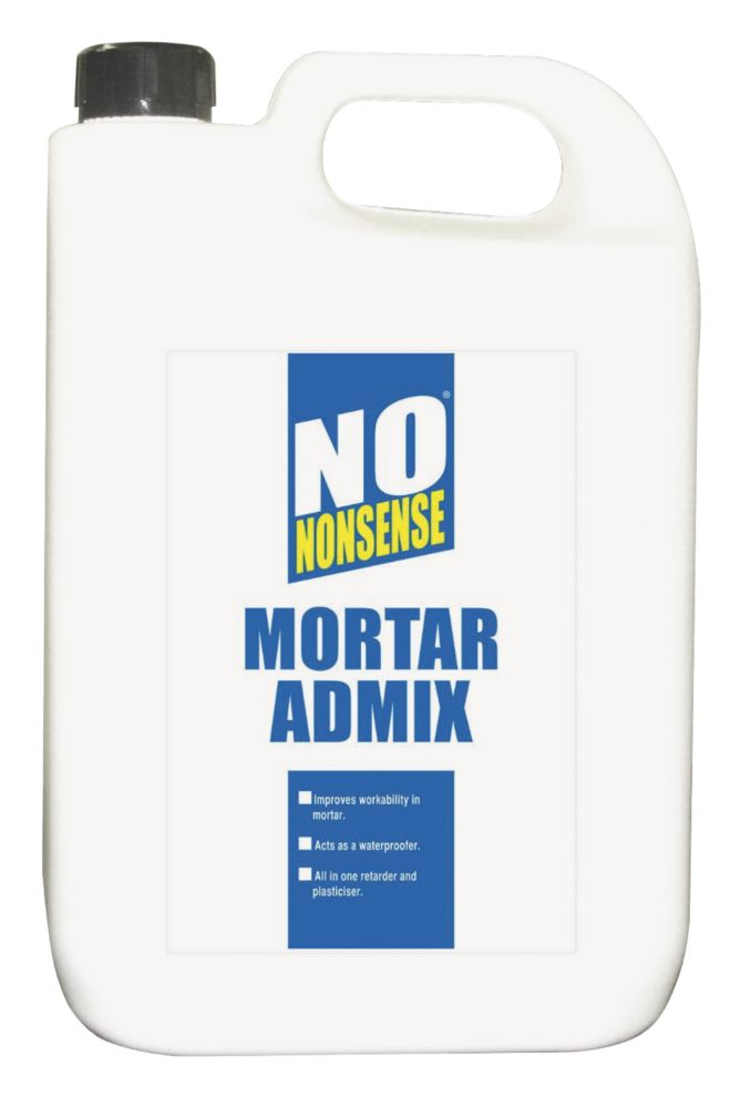 No Nonsense Mortar Admix Redish Brown 5Ltr