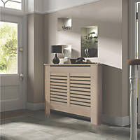Contemporary Suffolk Radiator Cabinet Small Natual MDF 1020 x 180 x 800mm