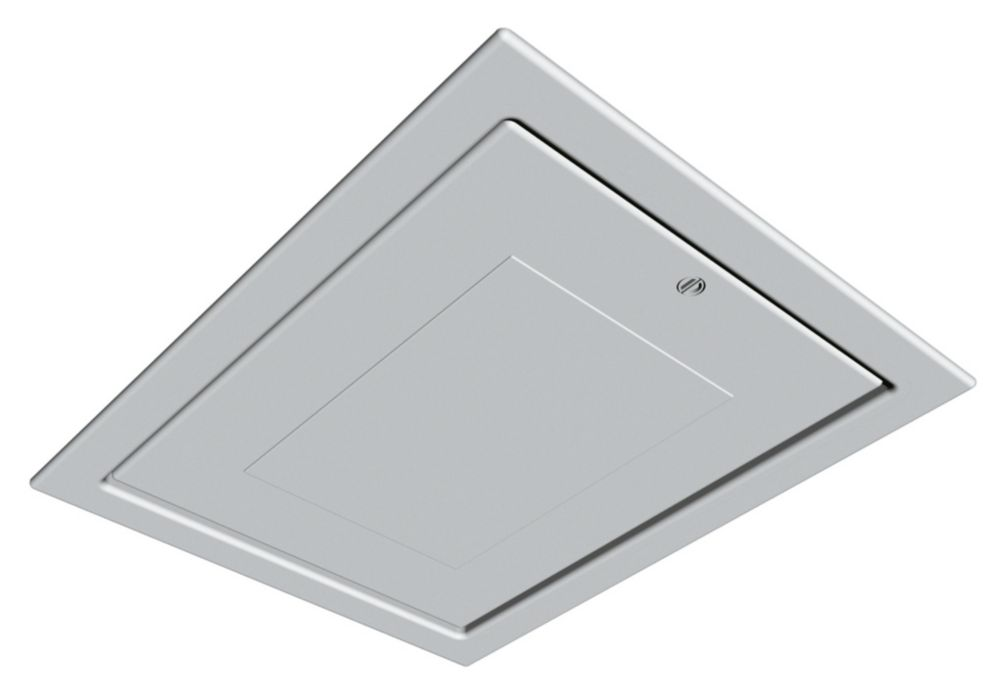 Insulated Drop Down Loft Access Door White 562 x 726mm