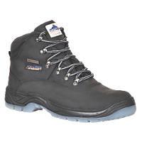Steelite FW57 Safety Boots Black Size 8