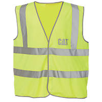 CAT C1322024 Hi Vis Vest Yellow XL