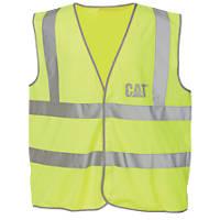 CAT C1322024 Hi Vis Vest Yellow XL