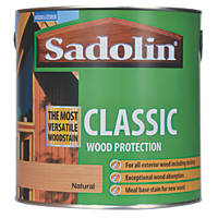 Sadolin Classic Woodstain Matt / Semi Matt Natural 2.5Ltr