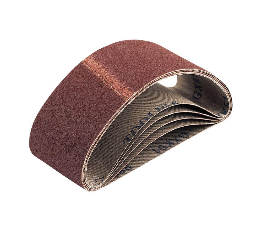 Cloth Sanding Belts 65 x 410mm 60 Grit Pack of 5