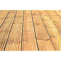Forest Patio Decking Kit 0.12 x 2.4 x 0.028m 10 Pack