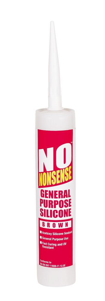 No Nonsense GP Silicone Brown 310ml