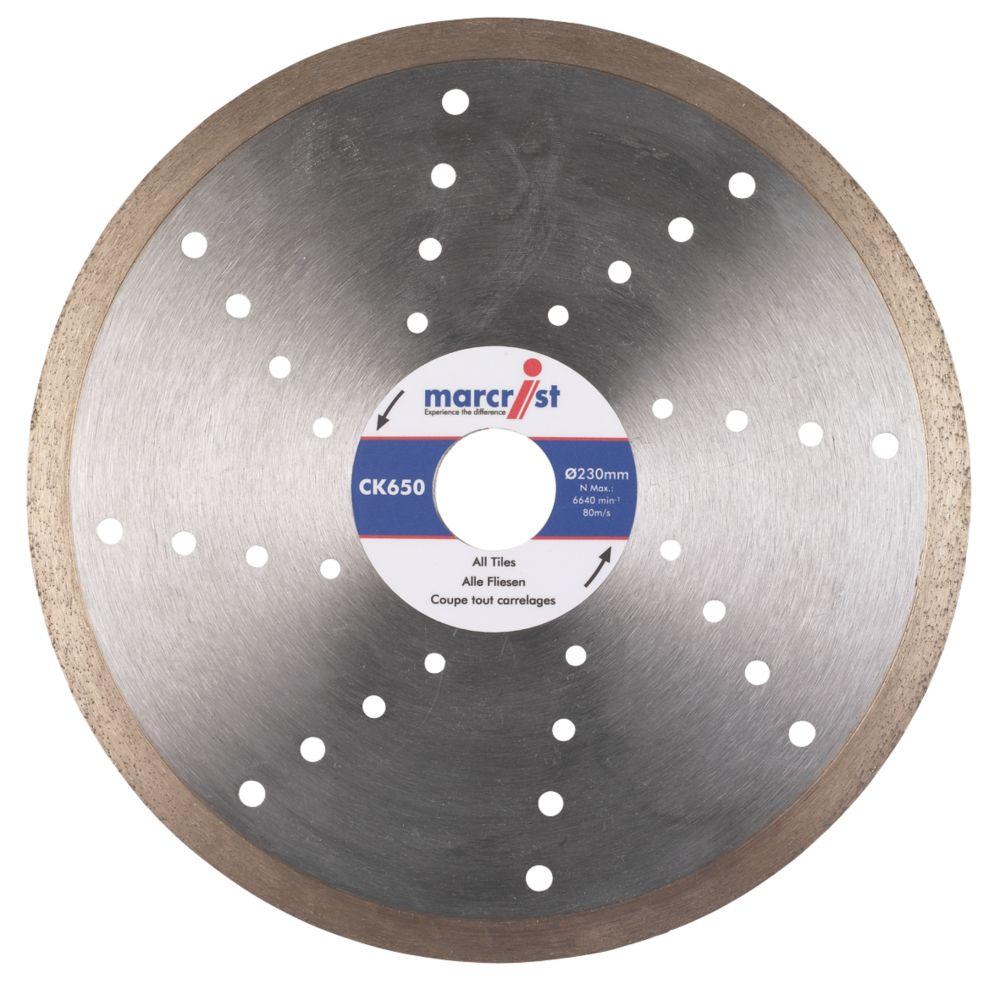 Marcrist CK650 Tile Cutting Diamond Blade 180 x 25.4mm