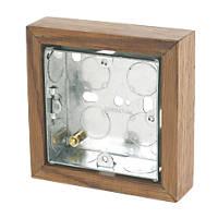 Varilight Single Wall Box Medium Oak