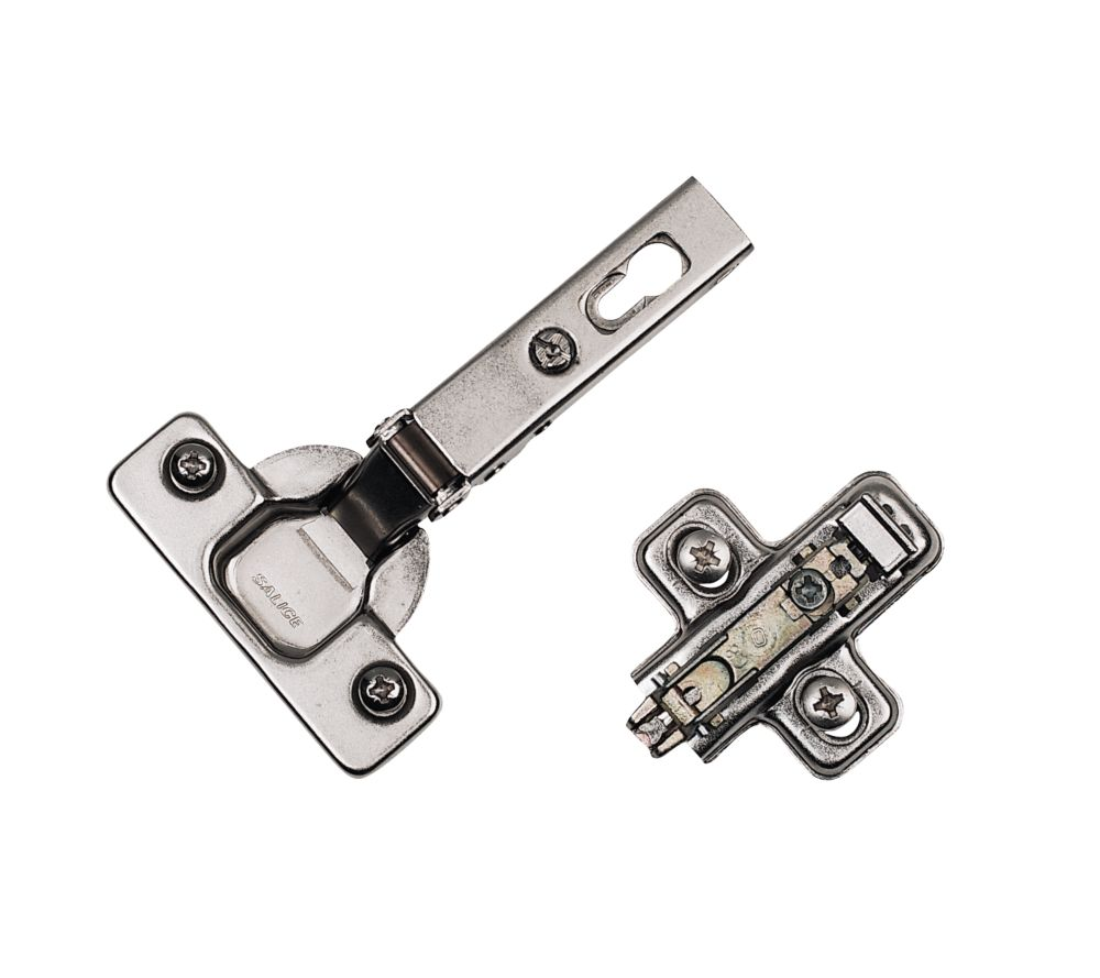 Sprung Concealed Hinge & Clip Base 110° 35mm Pack of 2