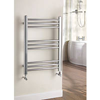 Kudox Timeless   Designer Towel Radiator Chrome 700 x 500mm 573BTU